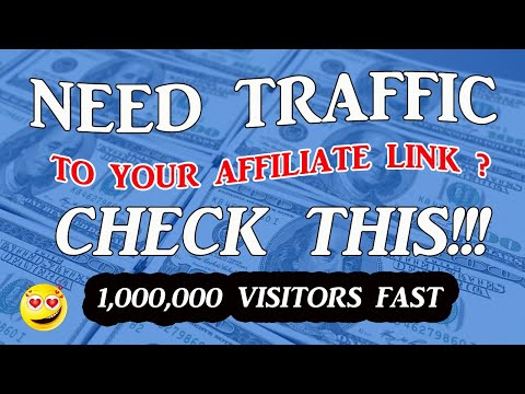 Traffic Academy Training, How To Get 1,000,000 Visitors To Your Affiliate Link
