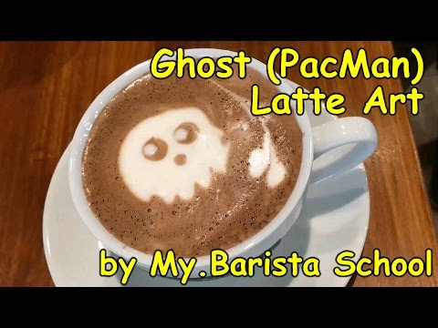 Etching - Ghost from Pacman (Hot Choc) in HD.1080p
