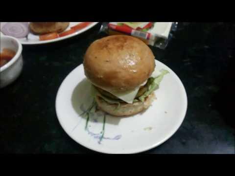 HamBurger | Cheese Burger | Sandwich | Veggie Burger recipe | Potato pattice Burger