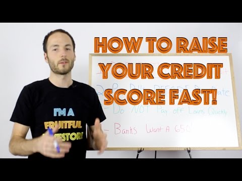 How To Raise Your Credit Score FAST | Credit Repair
