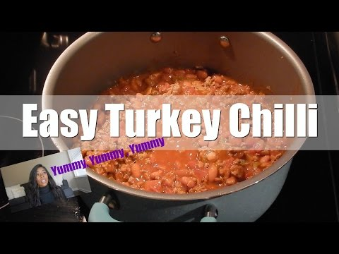 EASY TURKEY CHILI | MY KIDS AND I | COOKING VLOG