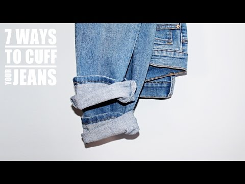 7 WAYS TO CUFF YOUR JEANS