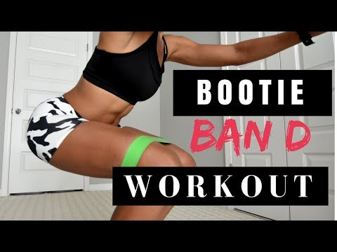 6 MIN: Bootie Band Workout for a Shapely BUTT