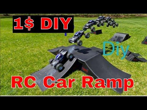 How to make a cheap rc car ramp 1$