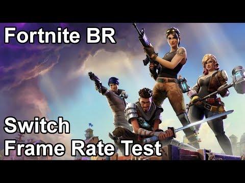 Fortnite Battle Royale Nintendo Switch Frame Rate Test