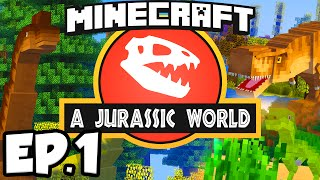 Minecraft 1 8 Jurassic World Mod Showcase Dinosaurs