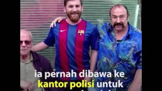 Mahasiswa Iran Kembaran Lionel Messi