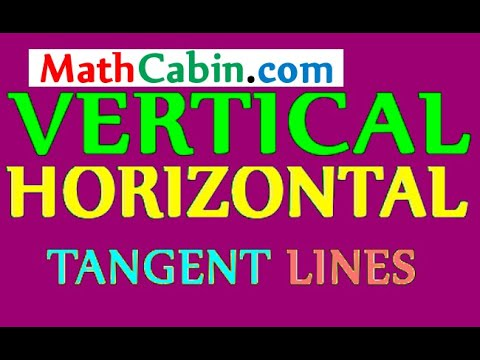 Parametric Curves: Points of Vertical and Horizontal Tangent Lines (calculus differentiation)