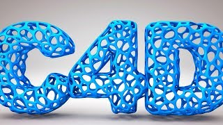 Cinema 4D Tutorial - 3D Cube Text Animation - PakVim net HD