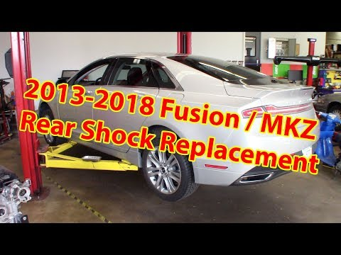 2013-2018 Lincoln MKZ / Ford Fusion Rear Shock Replacement