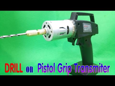 DIY Drill On Pistol Grip Transmiter - TX Drill