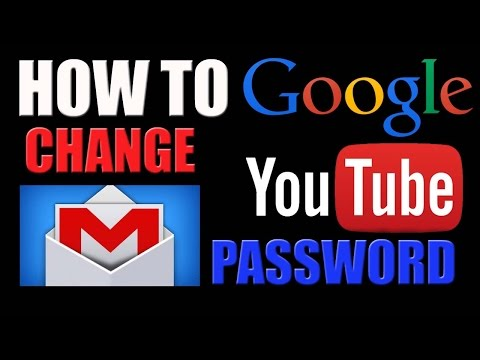 How to Change Gmail Password 2016
