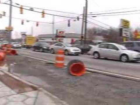 Friday Traffic on Howell Mill Road, Atlanta, GA