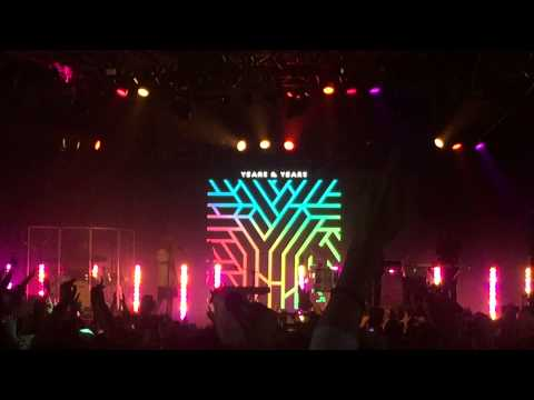 YEARS & YEARS 'KING' - LIVE @ SPLENDOUR IN THE GRASS 2015 MIX-UP TENT [HD]