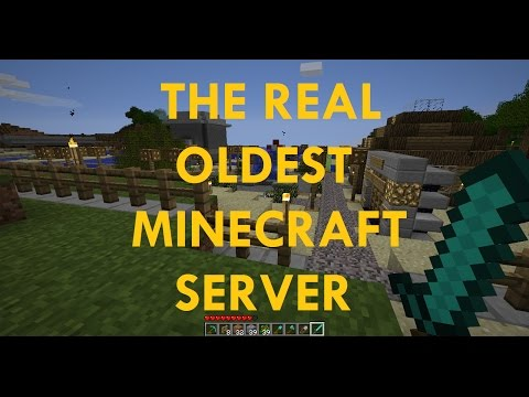 The REAL Oldest Minecraft Server (Not 2b2t) - PakVim net HD