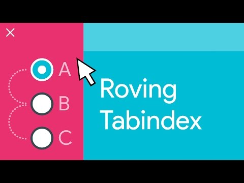 Roving tabindex -- A11ycasts #06