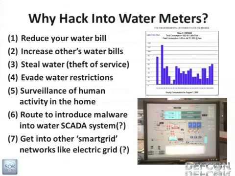 DEFCON 19 Vulnerabilities of Wireless Water Meter Networks