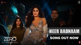 ZERO: Heer Badnaam | Shah Rukh Khan, Katrina Kaif, Anushka Sharma | Tanishk Bagchi | T-SERIES