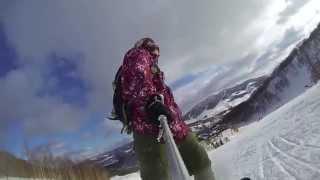 [gopro]snowboarding Treerun Rusutsu(ルスツ),hokkaido,japan By Tdprosports