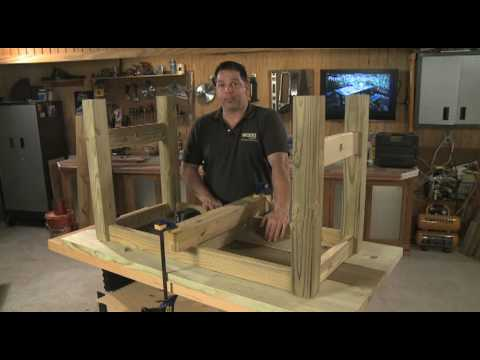 Southern Pine Picnic Table Project