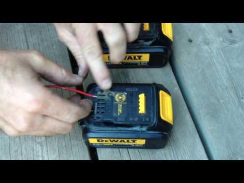Dewalt Battery Charging Fix