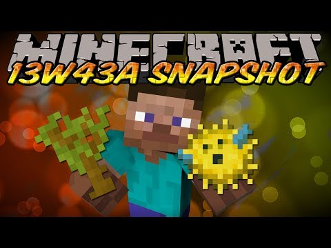 Minecraft Snapshot 13w43a (Minecraft 1.7) - NEW SAPLINGS & TREES, REPEATING SONGS, & MORE!