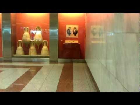 Athens subway - Acropolis station