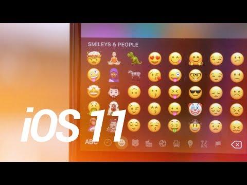 Apple Reveals Official iOS 11 Emojis!
