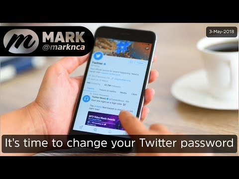 Change Your Twitter Password Change (May-2018)