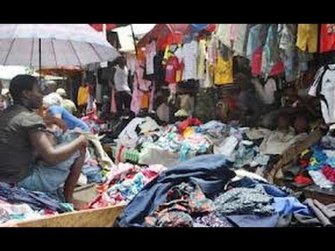 Nigeria Fashion: Designer Clothes from the Second-Hand market