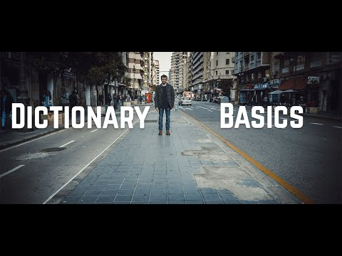 What is a python dictionary, how to create a dictionary in python?