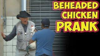 Beheaded Chicken Prank!!