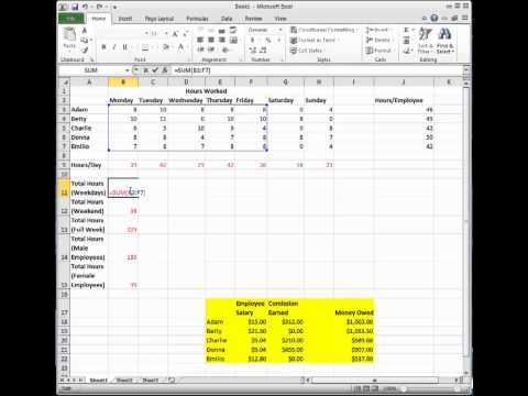 Change Formulas to Values and Change Relative to Absolute References in Excel