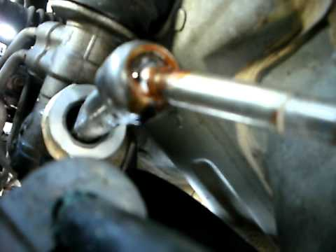 bad steering rack....