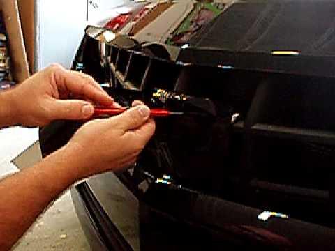 Camaro Bowtie Blackout Installation