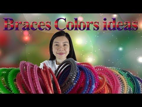 braces colors ideas