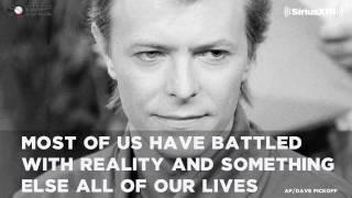 Rare David Bowie interview with Bill Flanagan // SiriusXM // VOLUME