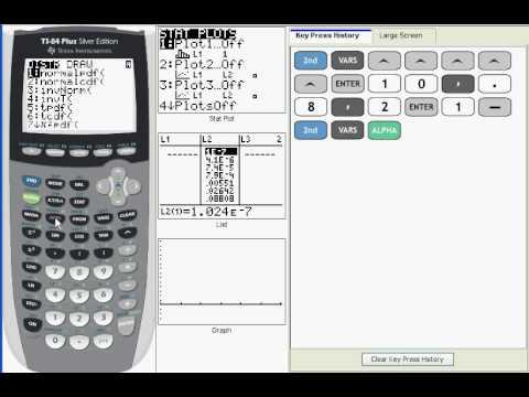 Ti 83/84:  Binomial Distributions:  binomcdf (V04b)