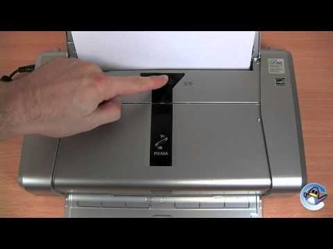 How to do a cleaning cycle/deep cleaning on a Canon Pixma IP100