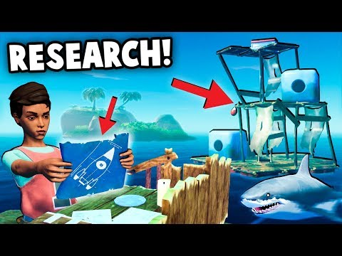 Scientific DISCOVERY, Island Exploration!   (Raft New Update Gameplay Part 2)