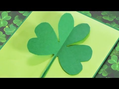 How to Make a Paper Shamrock/Clover