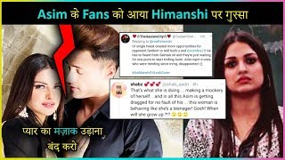Asim Riaz Fans Get ANGRY On Himanshi Khurana For Her Latest Tweet
