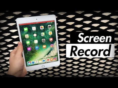 Screen Record iOS - How to Record Your iPad Screen