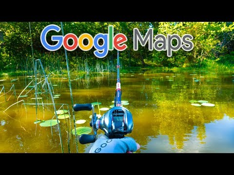 Using Google Maps to find Hidden Lakes!