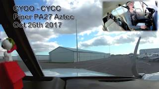 Busy And Stressed Atc! Piper Aztec Pa27 | Cyoo To Cycc