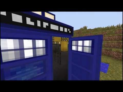 Minecraft - TARDIS (Video Effects) (Bigger on the inside)