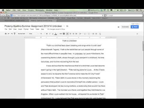 Tutorial: Setting Preferences on Google Docs to Save Time Grading
