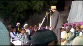 Syed Muzaffar Hussain Shah Sahab at Amberpet (Hyderabad Deccan)