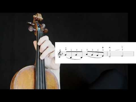 Theme from Schindler's List (John Williams): Violin - tutorial (Spanish, French, subtítulos)
