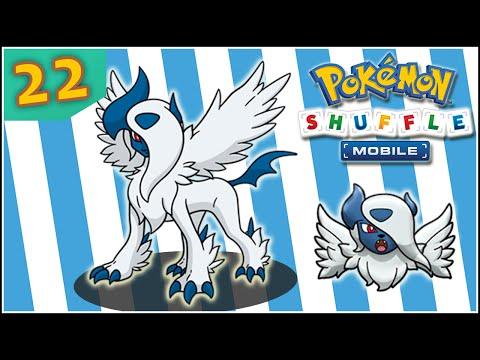 Pokémon Shuffle Mobile [Sin y con Objetos] 22 - COMPETICION MEGA ABSOL │ HACIENDO TODO LO POSIBLE